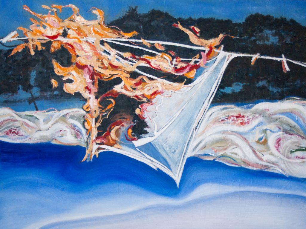 Blind Contour Homage: Pratt by Marlene Lowden