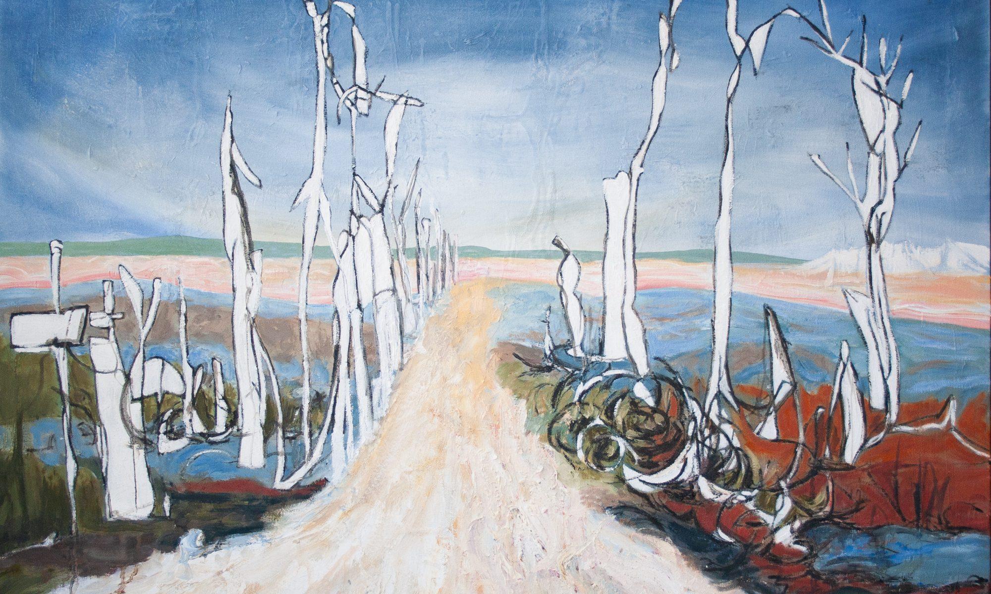 Blind Contour Homage: Hamilton by Marlene Lowden